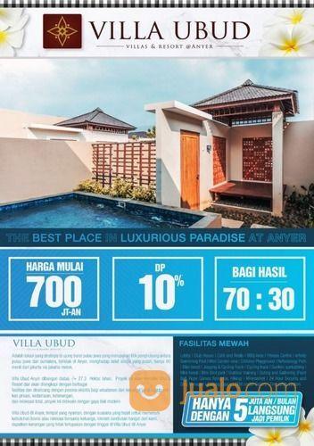Villa Ubud Anyer Villa Bernuansa Ubud Bali Kab Serang Jualo