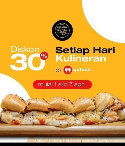 Roti John Promo Gofood 30 Setiap Hari Kulineran Yogyakarta Jualo