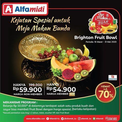 Alfamidi Verified Bright Fruit Bowl Special Price (25507519) di Kota Jakarta Selatan