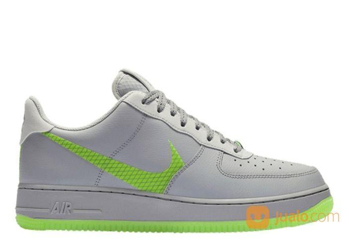 Nike Air Force 1 Low Wolf Grey Ghost Green - US size 8 (25516451) di Kota Jakarta Selatan
