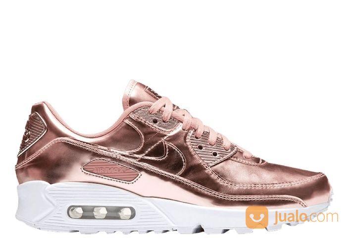 Nike Air Max 90 Metallic Rose Gold 2020 (W) - US size 11.5W (25516467) di Kota Jakarta Selatan