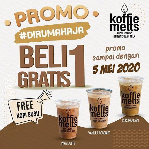 Koffie Melts Promo Beli 1 Gratis 1 (25531327) di Kota Jakarta Selatan