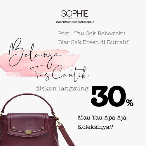 Promo Sophie Paris Diskon 30% Tas Cantik (25534047) di Kota Jakarta Selatan