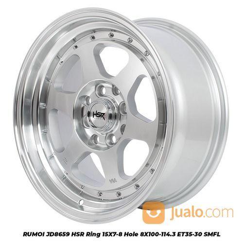 RUMOI JD8659 HSR R15X7/8 H8X100-114,3 ET35/30 SMFL (25560455) di Kota Depok