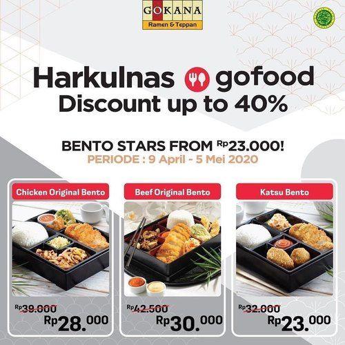 Gokana Ramen Teppan Harkulnas Discount Up To 40% Gofood (25564523) di Kota Jakarta Selatan
