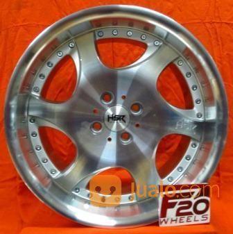 Velg Mobil Livina Type Hsr Wheel Gangnam Ring 17x75/85 Pcd 4x100/4x114,3 (25568075) di Kota Depok