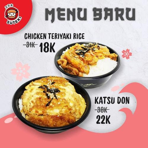SUTEKI SUSHI Menu Baru Special Price (25569703) di Kota Surabaya