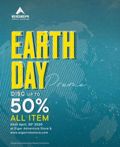 EIGER Diskon up to 50% Earth Day Promo (25570047) di Kota Jakarta Selatan