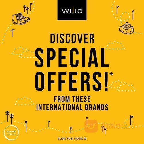 Wilio Kids Promo Special Offers! Shopping Voucher, Free Socks, up to 30% off (25576251) di Kota Jakarta Selatan