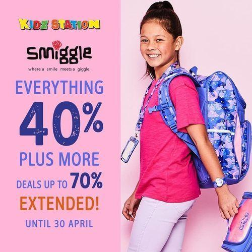 Kidz Station x Smiggle Everything 40% Sale (25576819) di Kota Jakarta Selatan