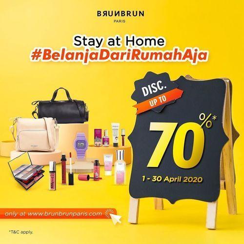 BRUNBRUN Paris Disc upt to 70& Pembelian via Website (25577143) di Kota Jakarta Selatan