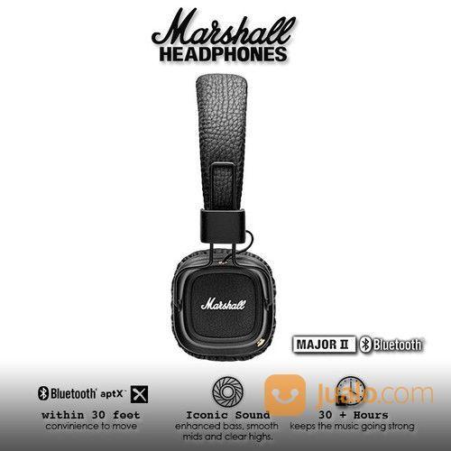 Marshall Major II Bluetooth Headphone - Black Second (25591799) di Kota Jakarta Barat