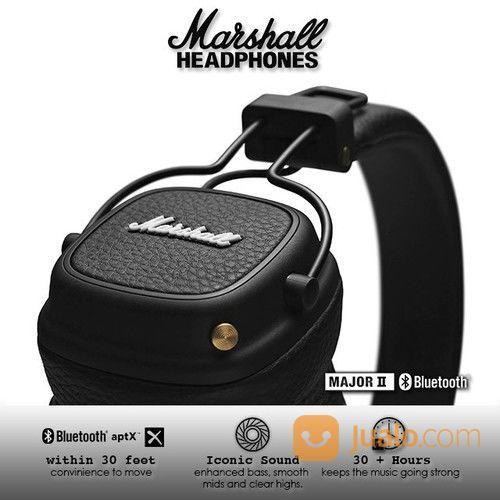 Marshall Major II Bluetooth Headphone - Black Second (25591807) di Kota Jakarta Barat