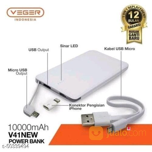 Pawerbank Veger V41 Slim 10000mah Ori (25619927) di Kota Dumai