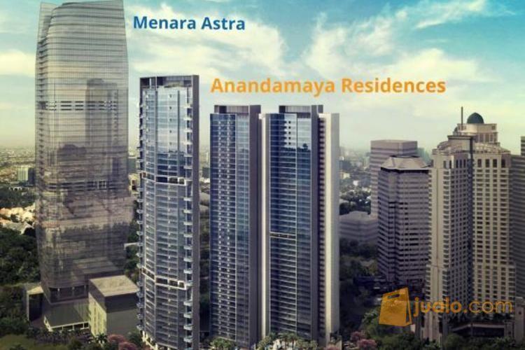 Anandamaya Apartment 2 BR Semi Furnished, Jakarta Selatan P0666 (2562035) di Kota Jakarta Selatan
