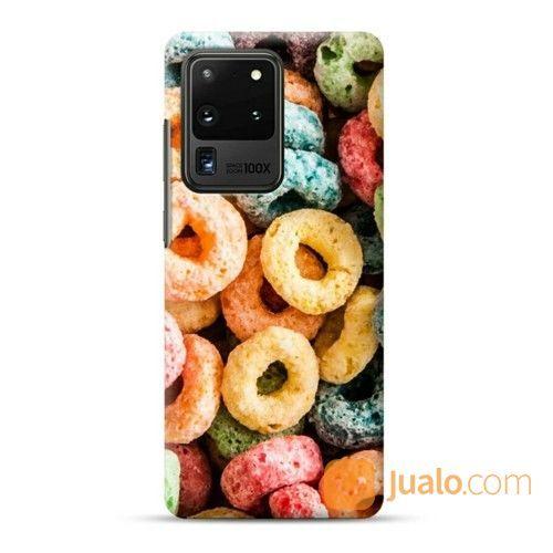 Corn Cereal Rings Samsung Galaxy S20 Ultra Custom Hard Case (25622019) di Kota Bekasi