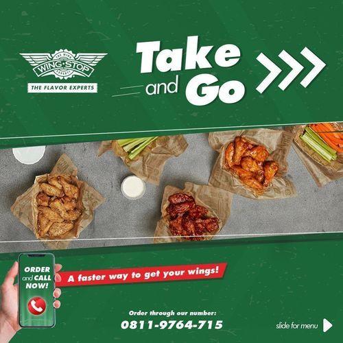 Wingstop Take And Go (25641723) di Kota Jakarta Selatan