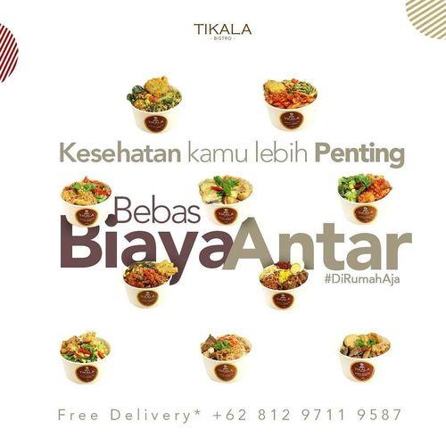 Tikala Bistro Promo Bebas Biaya Antar FREE ONGKIR (25645555) di Kota Jakarta Selatan
