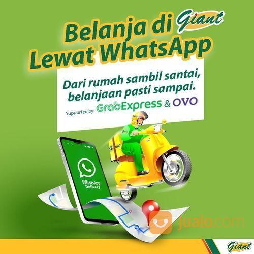 Giant Belanja Lewat WhatsApp (25648963) di Kota Jakarta Selatan