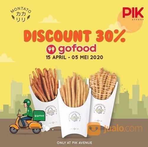 Untuk Pembelian Via GOOFOD MONTATO PIK Avenue Promo Discount 30% (25655551) di Kota Jakarta Selatan