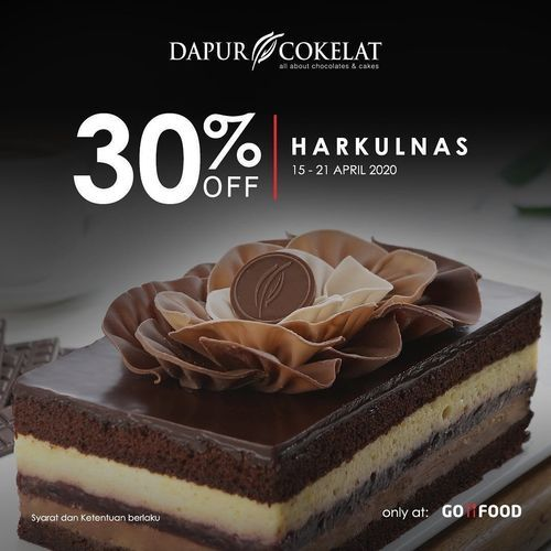 Dapur Cokelat Harkulnas 30% Off (25658319) di Kota Jakarta Selatan