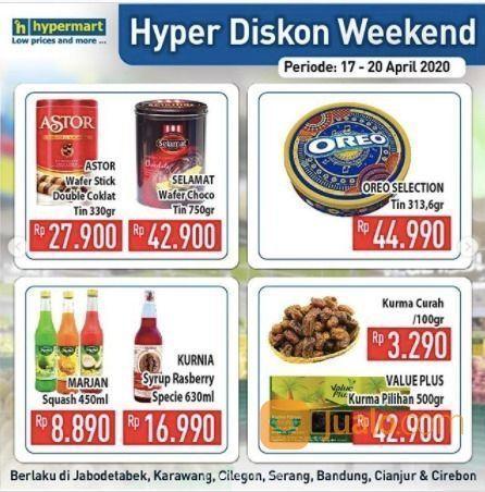 Hypermart Hyper Diskon Weekend (25677695) di Kota Jakarta Selatan