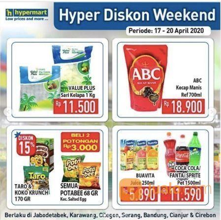 Hypermart Hyper Diskon Weekend (25677699) di Kota Jakarta Selatan