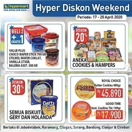 Hypermart Hyper Diskon Weekend (25677703) di Kota Jakarta Selatan