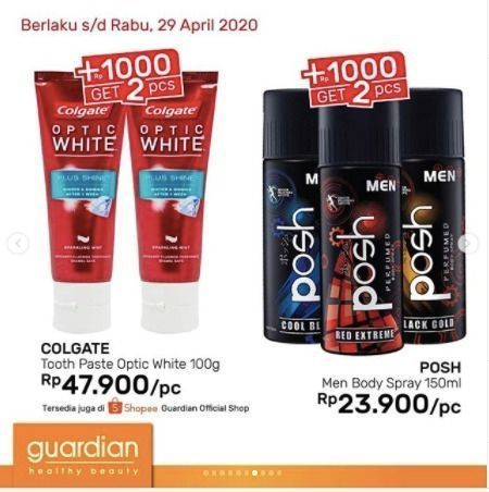 Guardian Super Hemat +1000 Get 2 Pcs (25678003) di Kota Jakarta Selatan