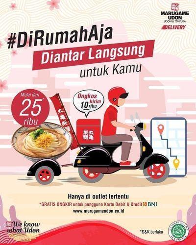 Marugame Udon Delivery Mulai Dari 25Ribu (25678155) di Kota Jakarta Selatan