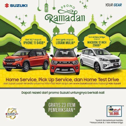 Suzuki Promo Ramadhan Dapatkan Iphone 11, Logam Mulia, atau Macbook 12 INCH untuk Pembelian Mobil (25682983) di Kota Jakarta Selatan