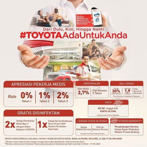 Toyota Promo Program #ToyotaAdaUntukAnda Penawaran Terbaik dari Toyota (25683907) di Kota Jakarta Selatan