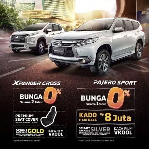 Mitsubishi Promo Bunga 0% Xpander Cross & Pajero Sport (25684403) di Kota Jakarta Selatan