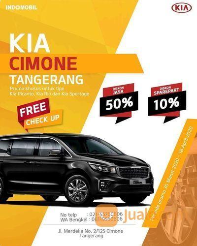 KIA Promo Diskon Jasa Pengerjaan 50% dan Sparepart 10% (25684683) di Kota Jakarta Selatan