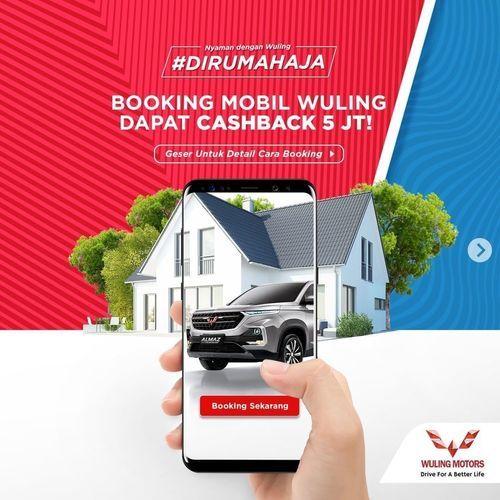 Wuling Motors Promo Booking Mobil Wuling Dapat Cashback Rp 5 JT! (25685239) di Kota Jakarta Selatan