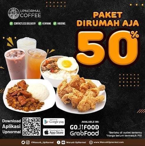 Warunk UpNormal Paket Dirumah Aja 50% (25687195) di Kota Jakarta Selatan