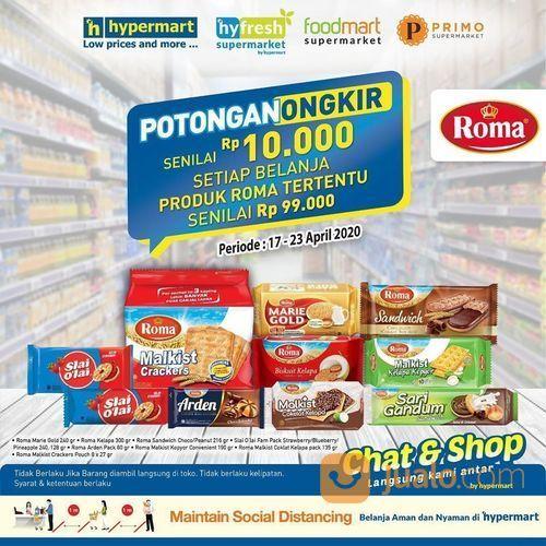 Hypermart Potongan Ongkir Senilai Rp 15.000 (25687855) di Kota Jakarta Selatan