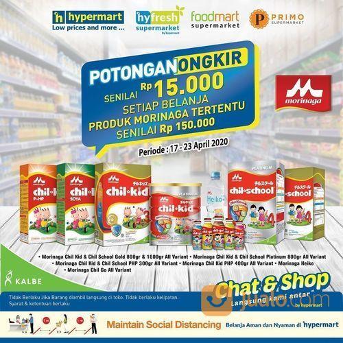 Hypermart Potongan Ongkir Senilai Rp 15.000 (25687879) di Kota Jakarta Selatan