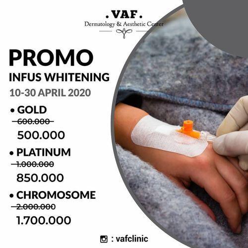 VAF Clinic Promo Infus Whitening April 2020 (25690403) di Kab. Sidoarjo