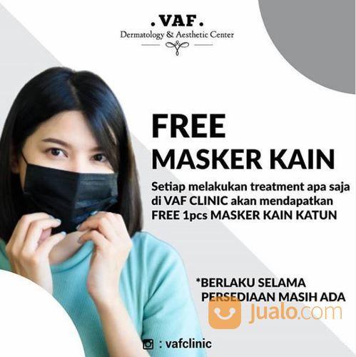 VAF Dermatology & Aesthetic Center - Free Masker Kain setiap melakukan treatment apa saja (25690475) di Kota Jakarta Selatan