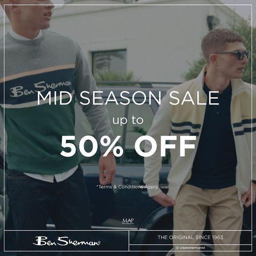 Ben Sherman Indonesia Mid Season Sale (25690479) di Kota Jakarta Selatan