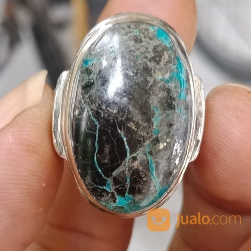 Natural Batu Cincin Pirus Persia Hitam Antik (25700851) di Kota Pasuruan