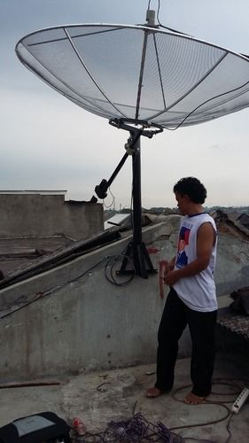 Pasang Parabola 2 Satelite Palapa / Telkom (25711955) di Kota Jakarta Selatan