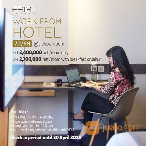 ERIAN Hotel Work from Hotel IDR 2,400,000 net/room only (25719059) di Kota Jakarta Selatan