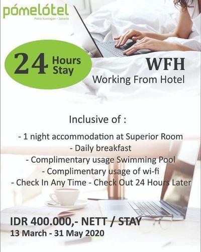 Pomelotel Hotel Jakarta Promo WFH (25719835) di Kota Jakarta Selatan