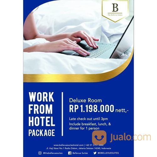 The Bellevue Suites Work From Hotel Package (25719871) di Kota Jakarta Selatan