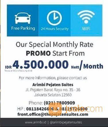 Arimbi Pejaten Suites Promo 30 Days for IDR 4.500.000 Nett (25719927) di Kota Jakarta Selatan