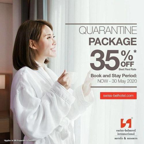 Swiss-Belhotel Pondok Indah Quarantine Package 35% Off (25720099) di Kota Jakarta Selatan
