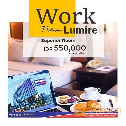Lumire Hotel & Convention Center Promo Superior Room IDR 550.000 net / oo / ight (25720283) di Kota Jakarta Selatan