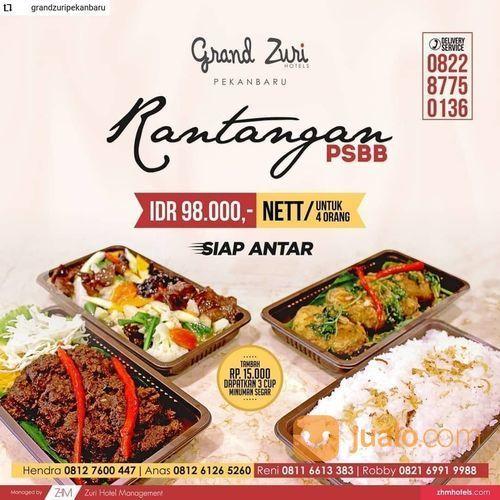 Grand Zuri Pekanbaru Promo Rantangan PSBB IDR 98.000/Nett (25721131) di Kota Pekanbaru